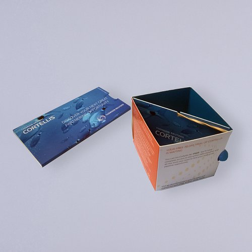 Open Sided Cube In Sleeve