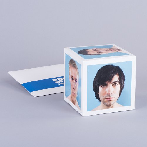 120mm Pop up Cube with sleeve