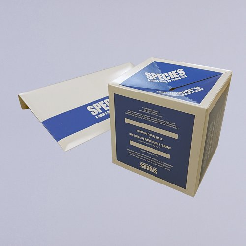 148mm Pop up Cube with board envelope