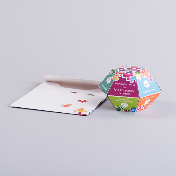 Pop up ball with board envelope from Create-This Limited