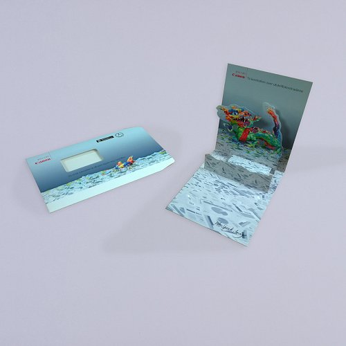 Dragon Pop up Card
