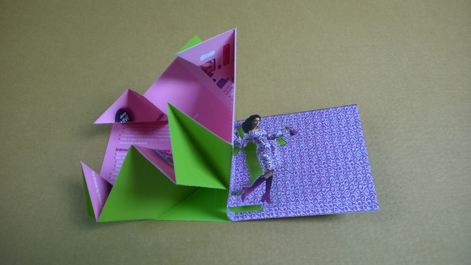 Exploding Pop Up Card