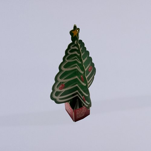 Open Pop Up Tree With Board Envelope