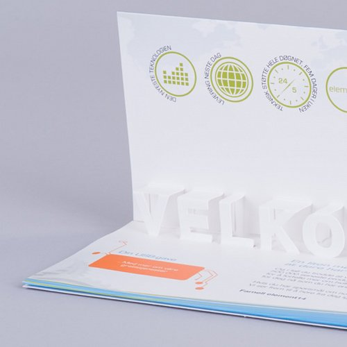 Word Pop Up Card